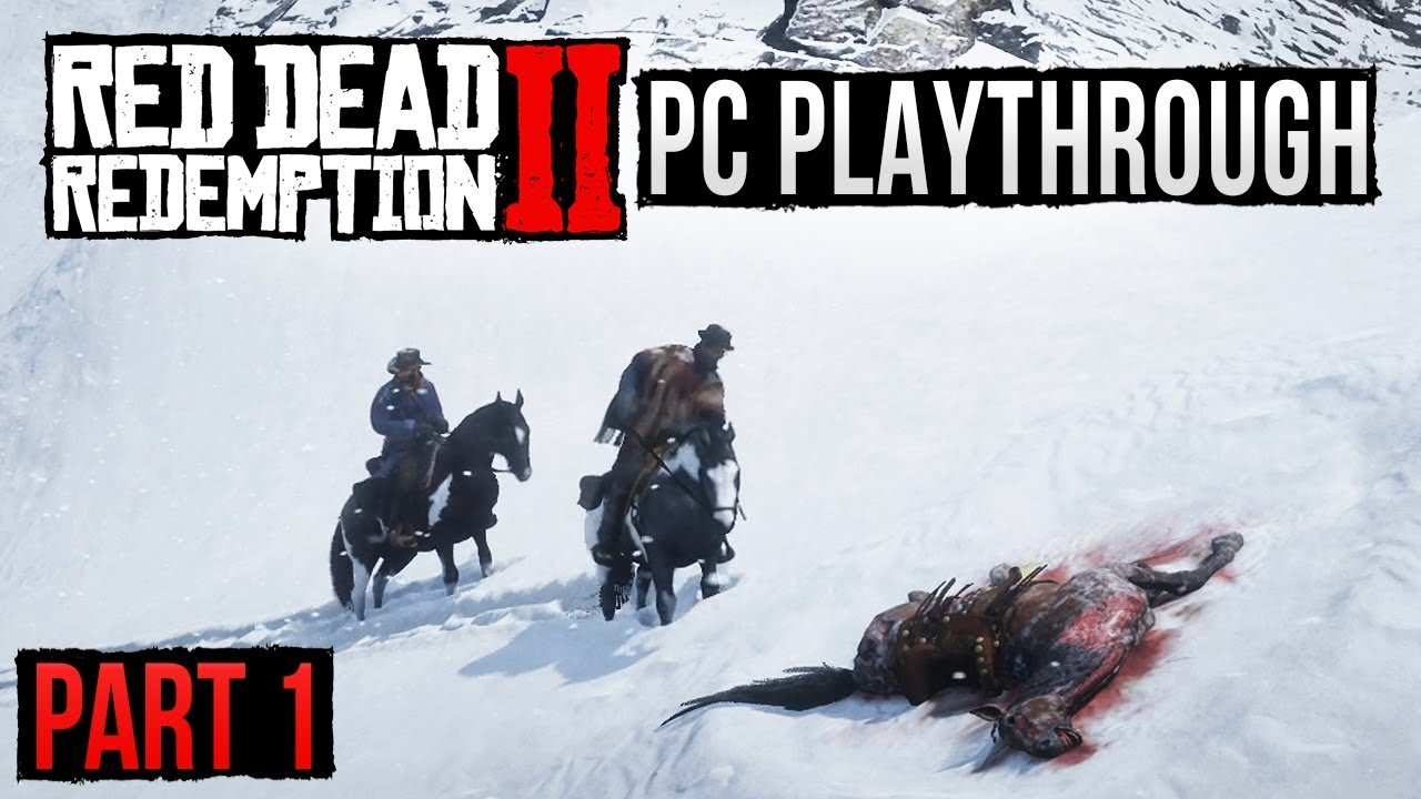 Red Dead Redemption 2 - PC Gameplay - PART 1! thumbnail