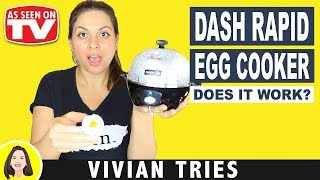 DASH RAPID EGG COOKER REVIEW | TESTING AS SEEN ON TV PRODUCTS