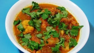 Fish Curry With Cauliflower And Potato (bengali Style)
