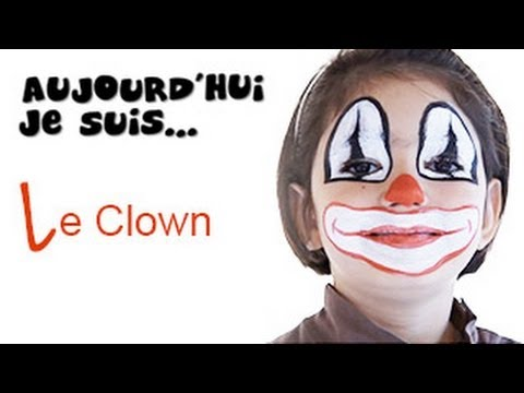 maquillage clown tutoriel maquillage enfant facile youtube. Black Bedroom Furniture Sets. Home Design Ideas