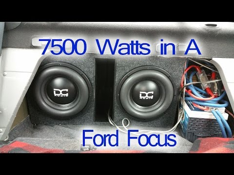 7500 Watts in A Ford Focus [Update: 5/27/16]