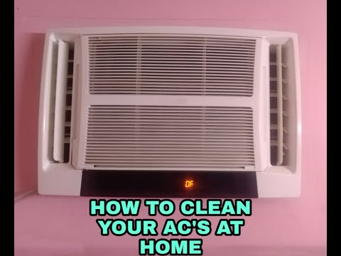 HOW TO CLEAN WINDOW AC AT HOME || WITHOUT ANY SERVICE MAN ||