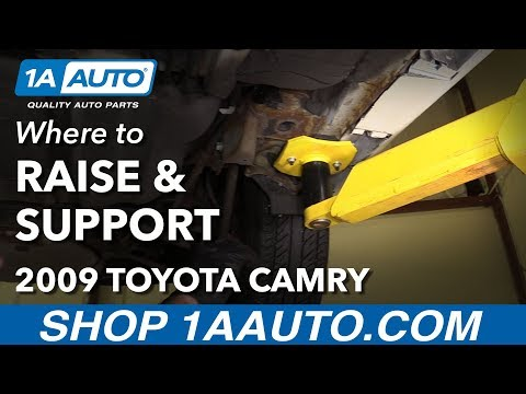 Where to Raise and Support 06-11 Toyota Camry