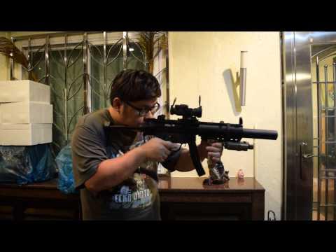 Umarex VFC MP5SD GBB after modify