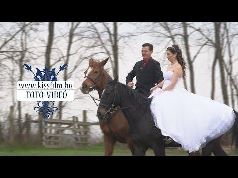 Vivien és Norbert - lovas fotózás 2018. - KISSFILM.HU