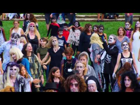 Santa Barbara  Zombie Flash Mob  2016