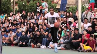 Giannis and Thanasis Antetokounmpo Playing Pick-Up Basketball in Greece
