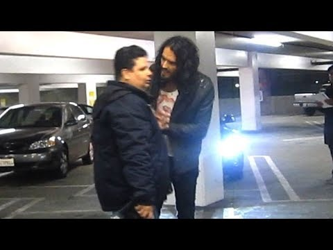 Russell Brand Gets Into It With Photographers On Date Night With Katy Perry [2010]