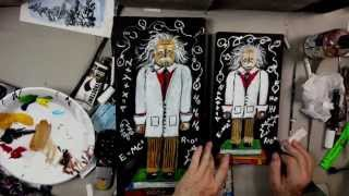 How to paint an Einstein Nutcracker - Contest and step by step tutorial