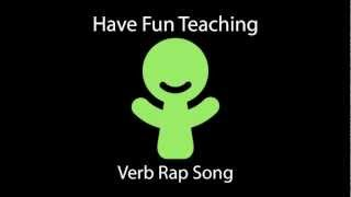 Verb Rap Song (Learn Verbs for Kids - Audio)