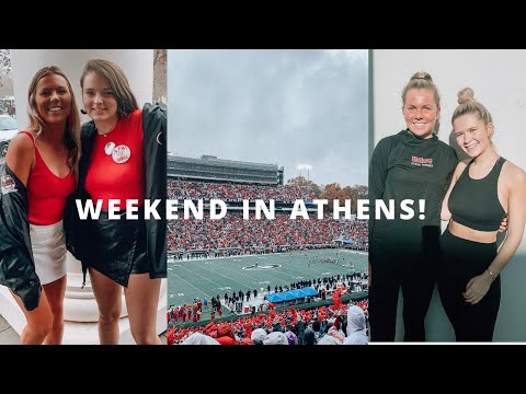 COLLEGE WEEKEND: Visiting UGA, Football Game, MEETING DANIELLE CAROLAN?!