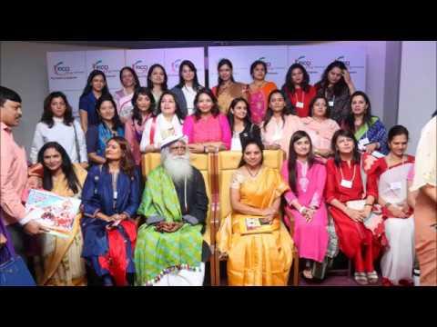 Kalvakuntla Kavitha With Sadhguru In Conversation With the Mystic