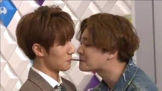 Download Video ▷Jeongmin y Minwoo Pepero game - Boyfriend - Try my wings programa especial 180228  - SUB ESP MP3 3GP MP4