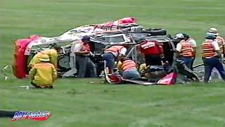 Darrell Waltrip Big Crash 1991 Pepsi 400