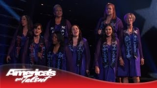 "American Military Spouses Choir - Group Performs Powerful ""Hero"" Cover - America"