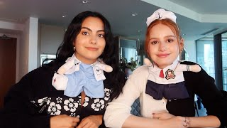 Halloween (dog) costume haul w/ camila mendes | Madelaine Petsch