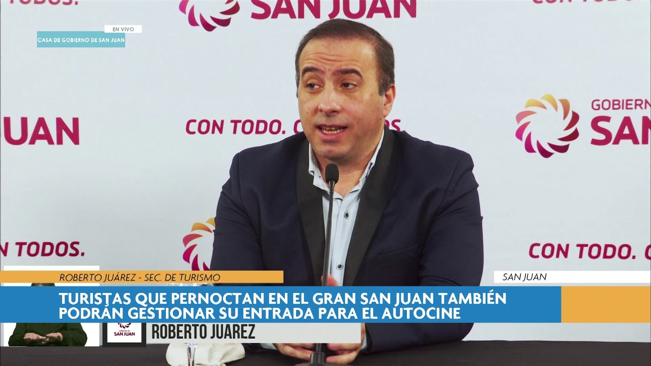 Roberto Juarez explicó como hacer para sacar el permiso para hacer turismo interno