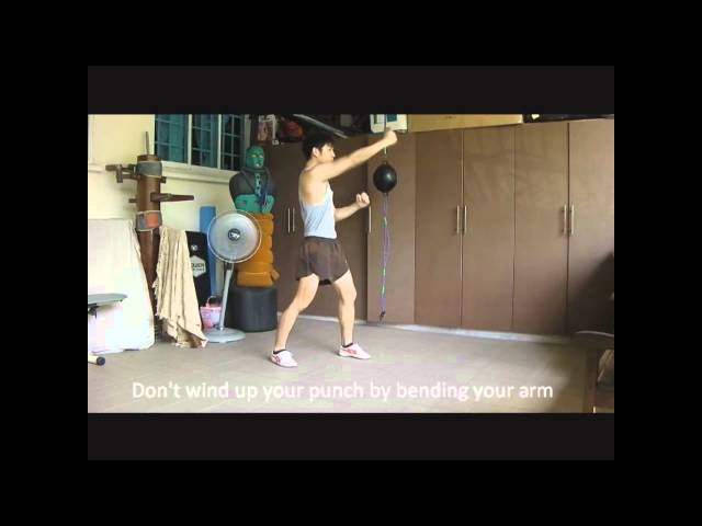 wing chun singapore energy punches part 2