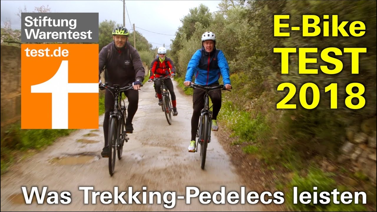 e bike test 2018 wie gut sind die neuen trekking pedelecs stiftung warentest youtube. Black Bedroom Furniture Sets. Home Design Ideas