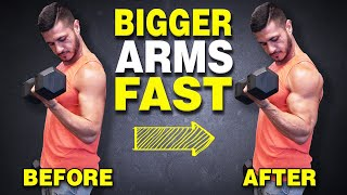 How to Build Bigger Biceps FAST (3 Advanced Techniques)