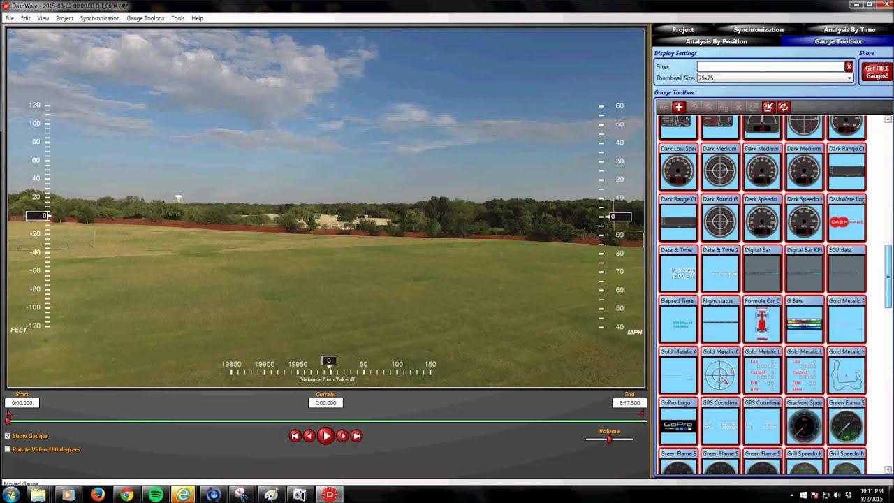 Overlaying Flight Data on Raw P4 Video | DJI FORUM