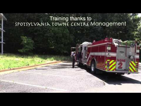 Fredericksburg Fire Productions - open house community service award 2015