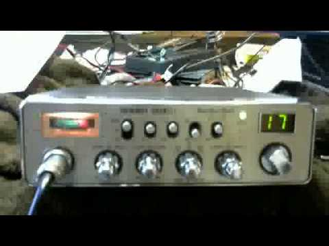 40 meter band conversion to cb radio making qrp contact to Pennsylvania