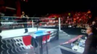 The Rock returns Raw 2011 (14th Feb, 11)
