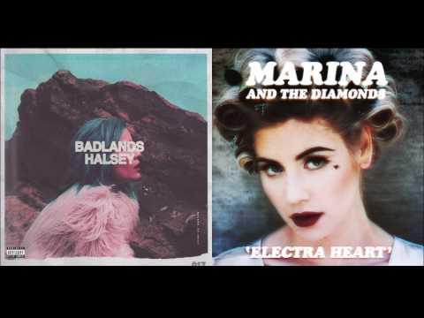 Halsey & Marina And The Diamonds - Lies Control (Mashup)