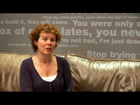 "Imelda Staunton about ""A bunch of Amateurs"" 1"