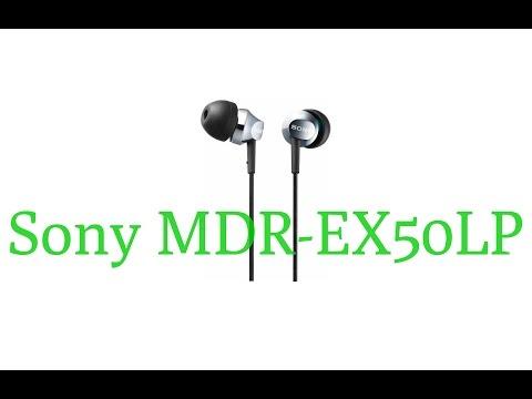 Наушники Sony MDR-EX50LP  обзор достоинств и недостатков cbdd3d0c0d0fe