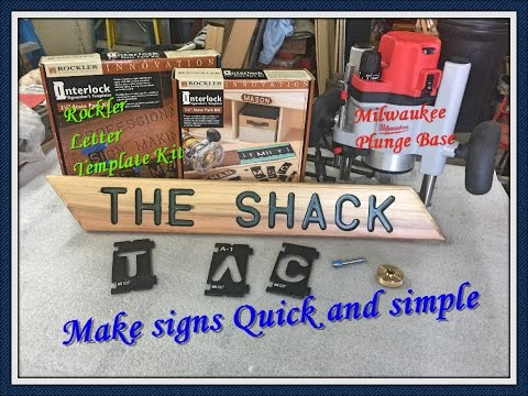 How to make a sign milwaukeetool routerrockler letter template how to make a sign milwaukeetool routerrockler letter template kit maxwellsz