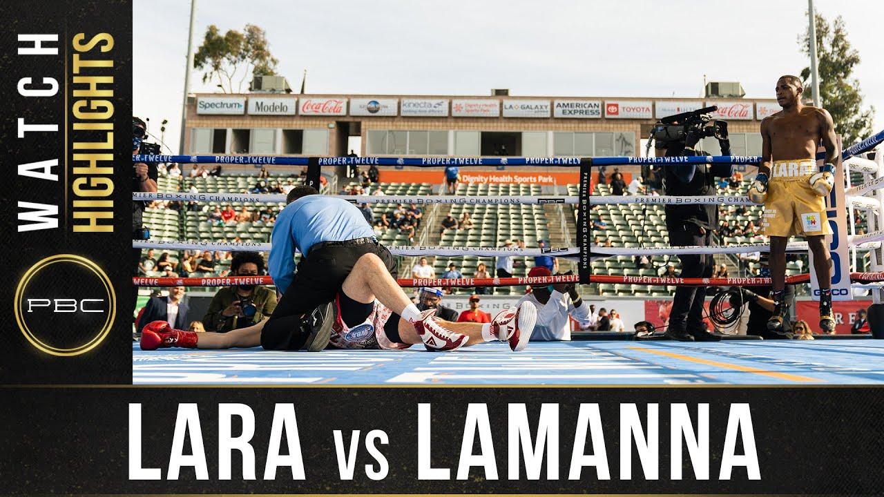 Lara vs Lamanna HIGHLIGHTS: May 1, 2021 - PBC on FOX