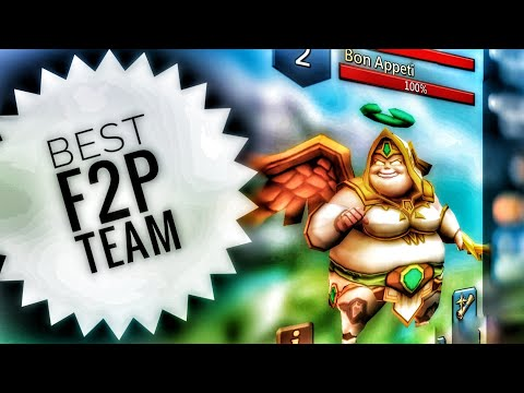 Lords Mobile - Best F2P Bon Appeti Monster Hunting Team