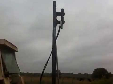 Homemade Water Well drilling rig Part 3