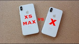 iPhone XS MAX vs iPhone X