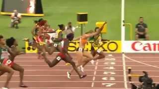 Jamaican Shelly Ann Fraser-Pryce wins 100m Final - IAAF WC2015