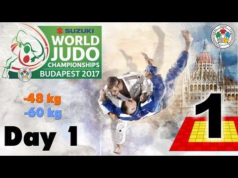 Suzuki World Judo Championships 2017: Day 1 - Elimination