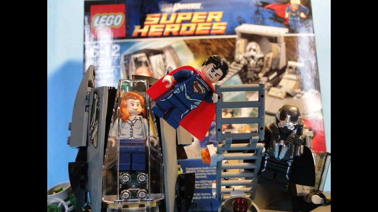 Lego Superman 2013 New Set Man Of Steel 76009 Youtube