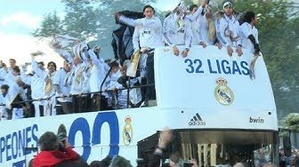 Özil und Khedira feiern mit Real Madrid Meistertitel
