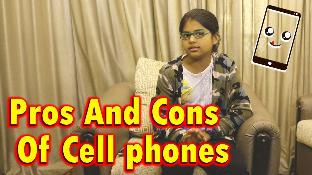 Mobile phone for the child: the pros and cons