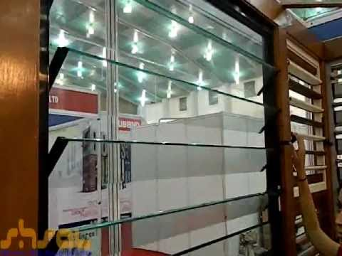 Glass louvers youtube for Lotus operable walls