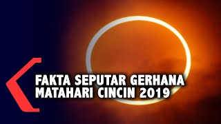 Fakta Seputar Gerhana Matahari Cincin 2019