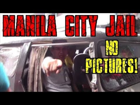Manila City Jail Guards Freak Out Over A Camera