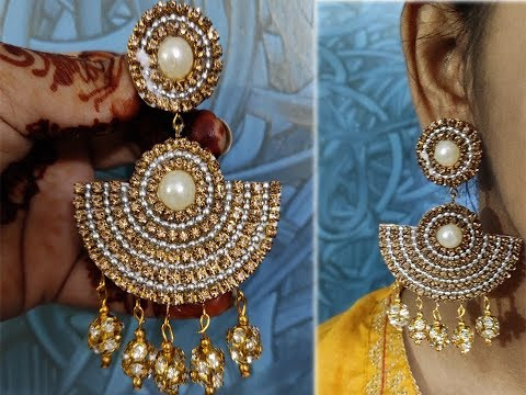 manking-of-handmade-paper-earring- -made-out-of-paper- -handy-mandy-craft