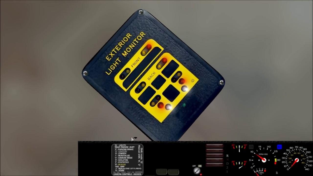 Collins School Bus Light Monitor Wiring Diagram