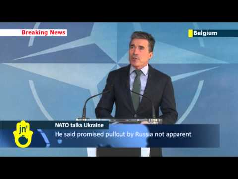 NATO Chief Rasmussen: Russian aggression against Ukraine is threat to European security