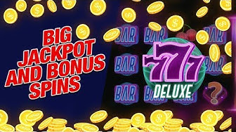 777 Deluxe Slot Machine – Great Wins and Slot Bonus Spins!
