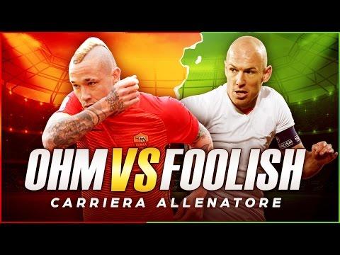 ROMA vs IL SASSUOLO di FOOLISH! | CARRIERA ALLENATORE | FIFA 17 [ITA]