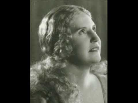 KIRSTEN FLAGSTAD SINGS -   LOVE WENT A RIDING- frank bridge - 1937 FORD HOUR